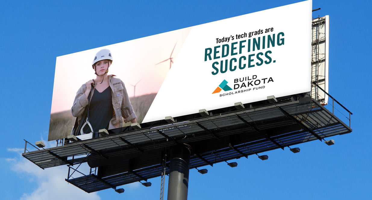 Build Dakota billboard