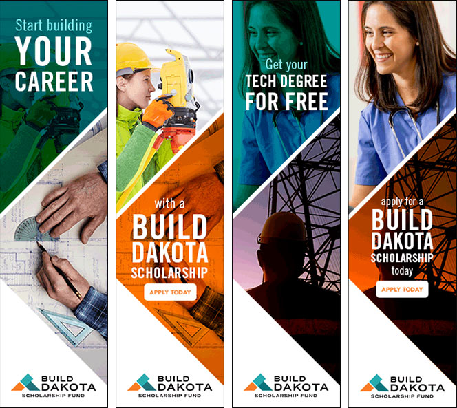 Build Dakota web banners