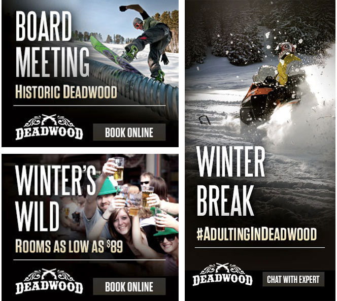Web Banners | Adulting in Deadwood