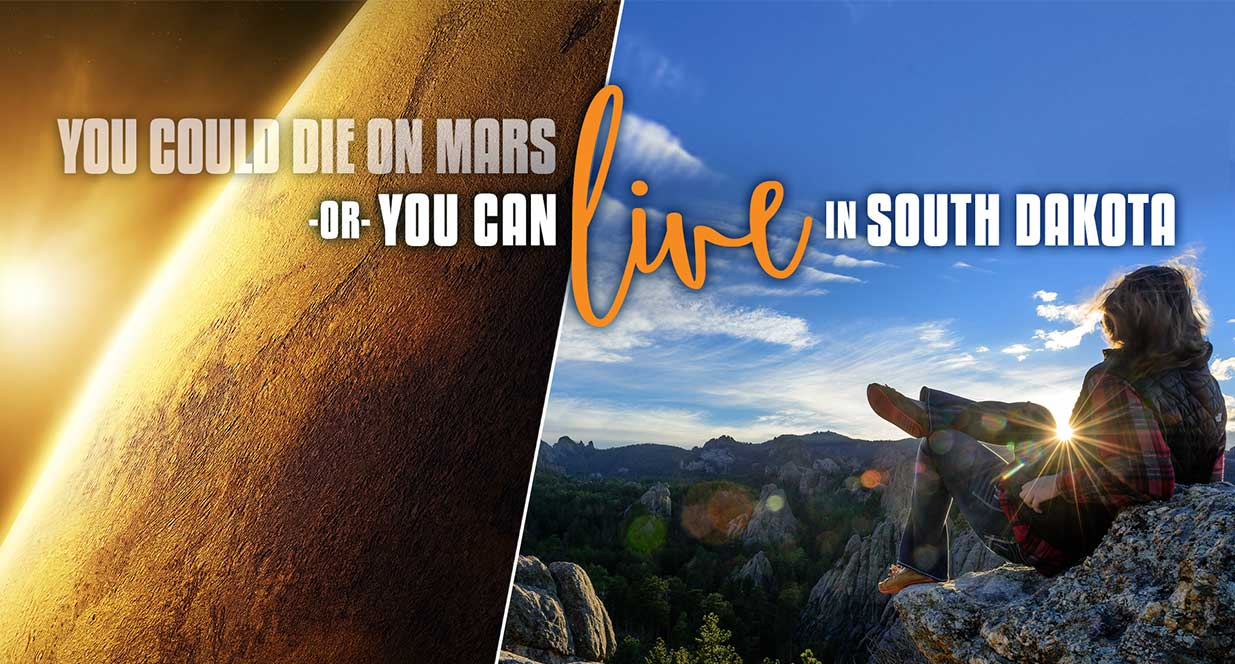 You Can Live Here or Die on Mars