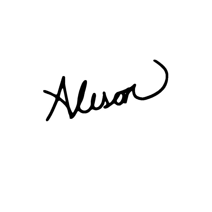 Alison Kerkveilt Signature