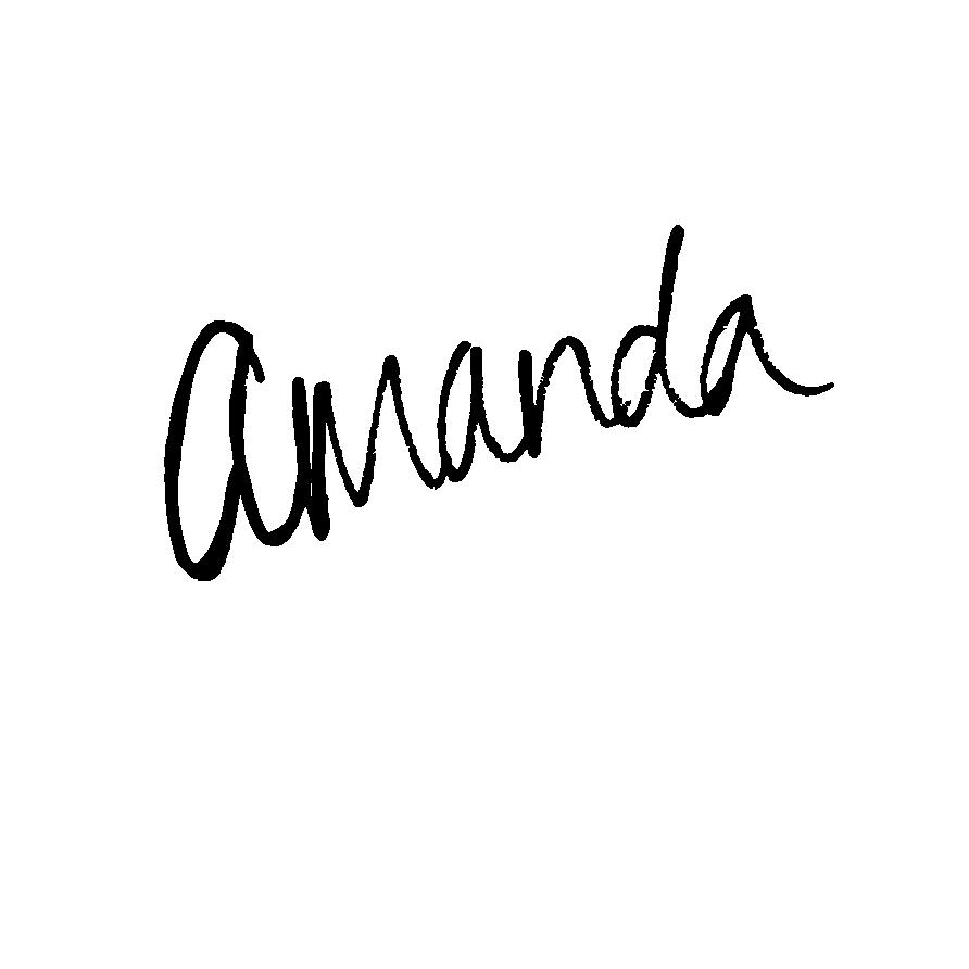 Amanda McCord Signature