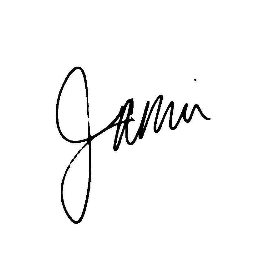 Jamie Hegge Signature