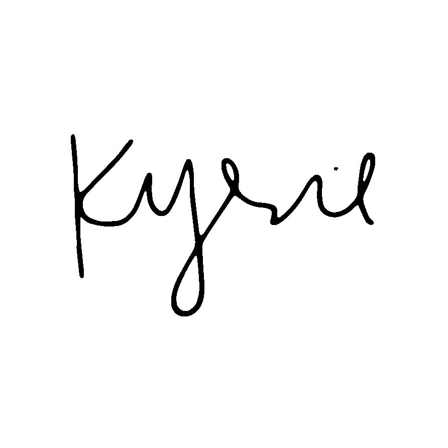 Kyrie Bussler Signature