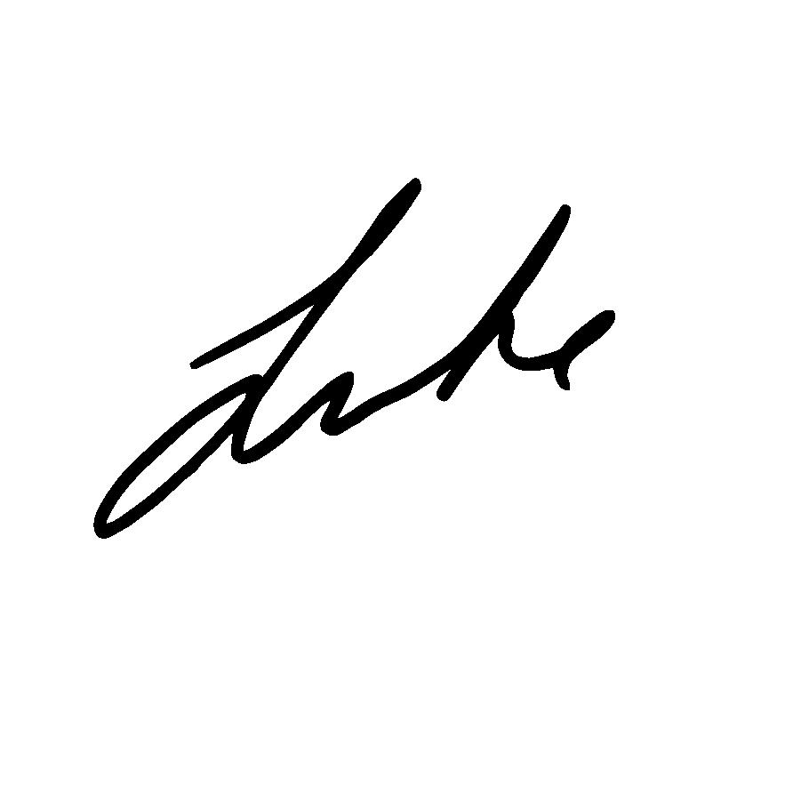 Luke McElrath Signature