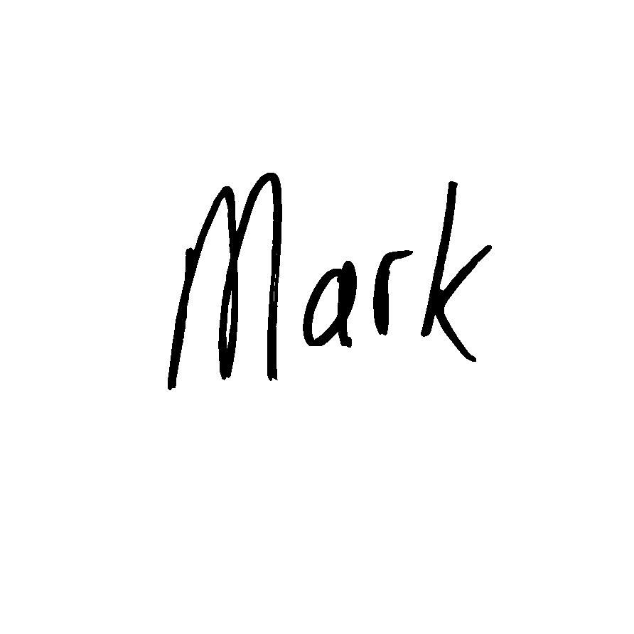 Mark Glissendorf Signature
