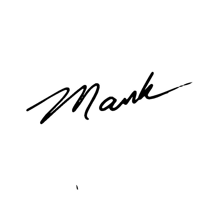 Mark Jacobsen Signature