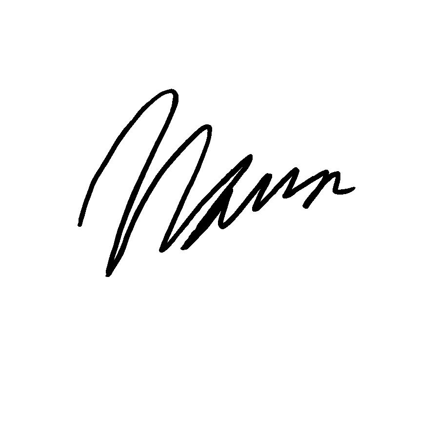 Mason Horacek Signature