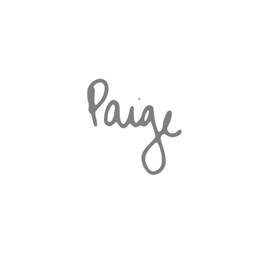 Paige Schwitters Signature