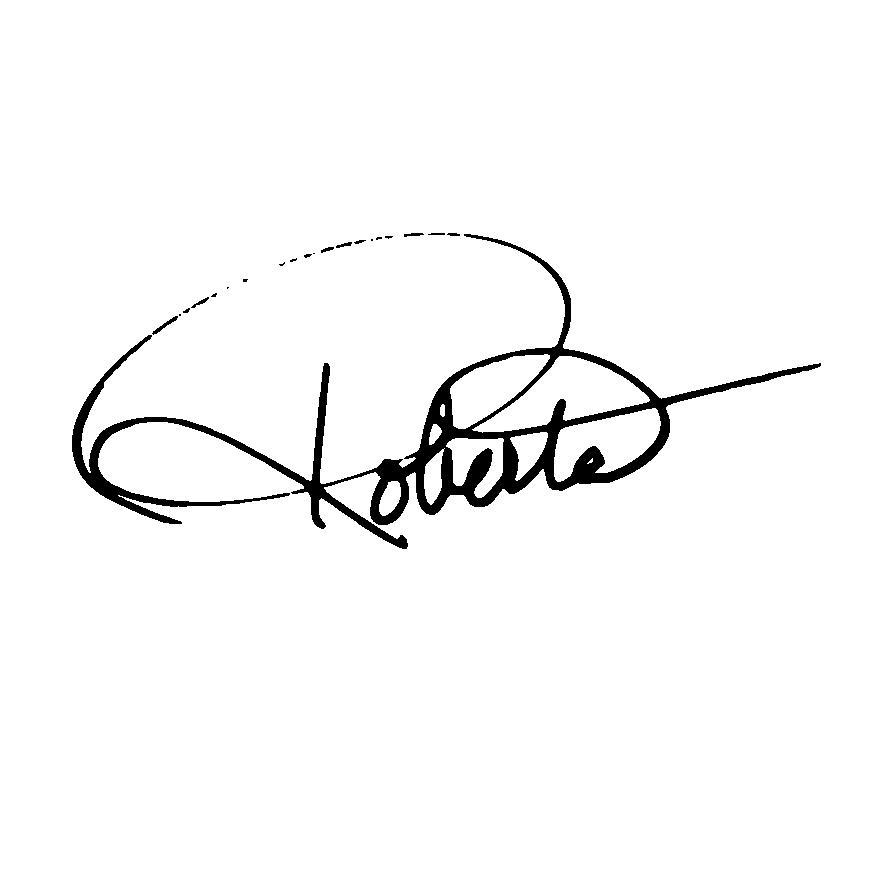 Roberta Forman Signature