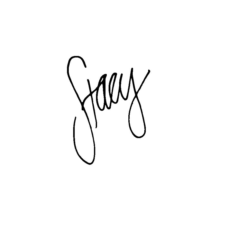 Stacy Schluttner Signature
