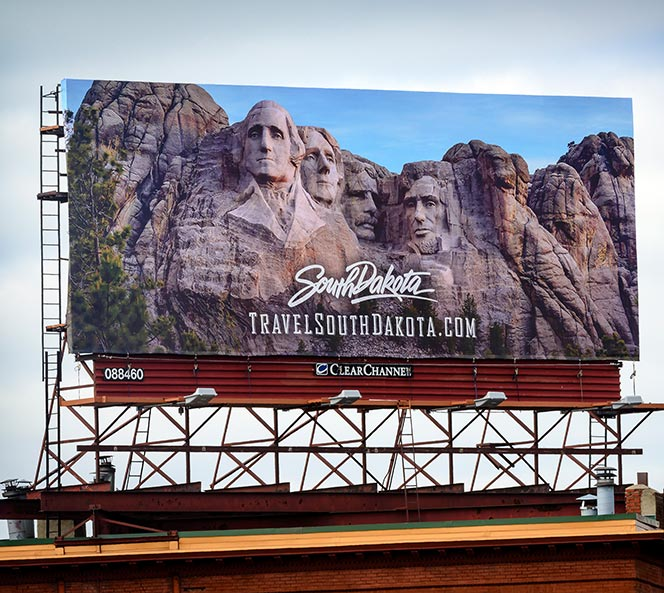 Travel South Dakota Billboard