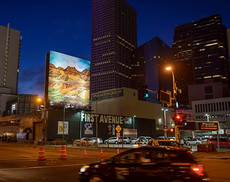 My Great Place Billboard Downtown