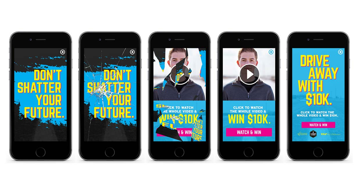 Don't Shatter Your Future on Mobile Device | SDOHS
