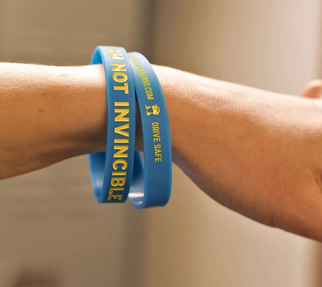 SDOHS Rubber Bracelets