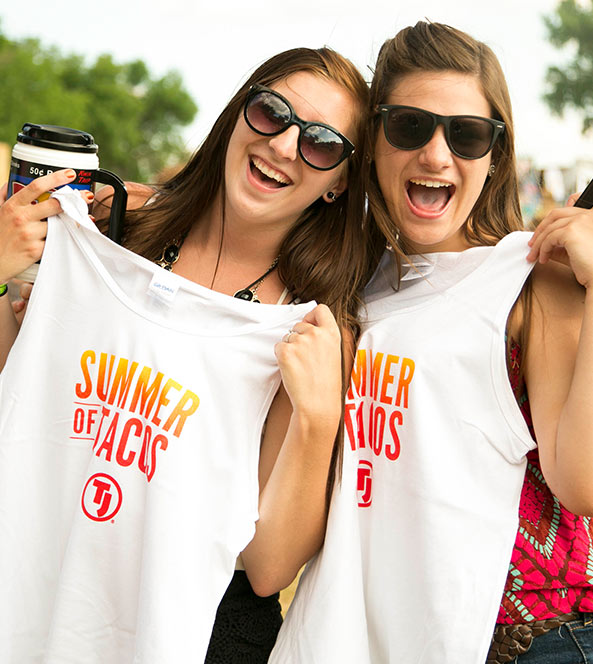 Showing off Tank Tops and Merch | Summer of Tacos