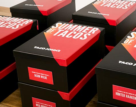 Box Signage | Summer of Tacos