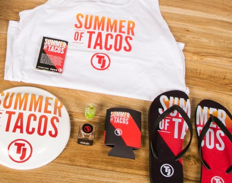 Tank top, Flip Flops, Coozie | Summer of Tacos