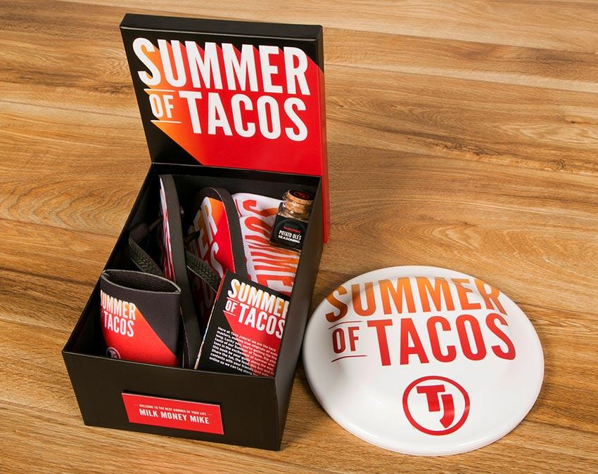 Tank top, Flip Flops, Coozie | Summer of Tacos