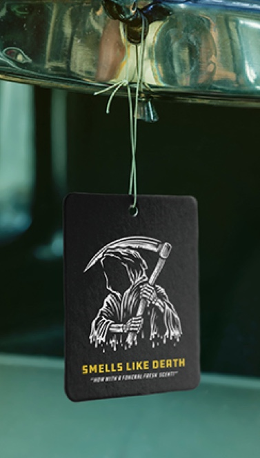 Jim Reaper death air freshener