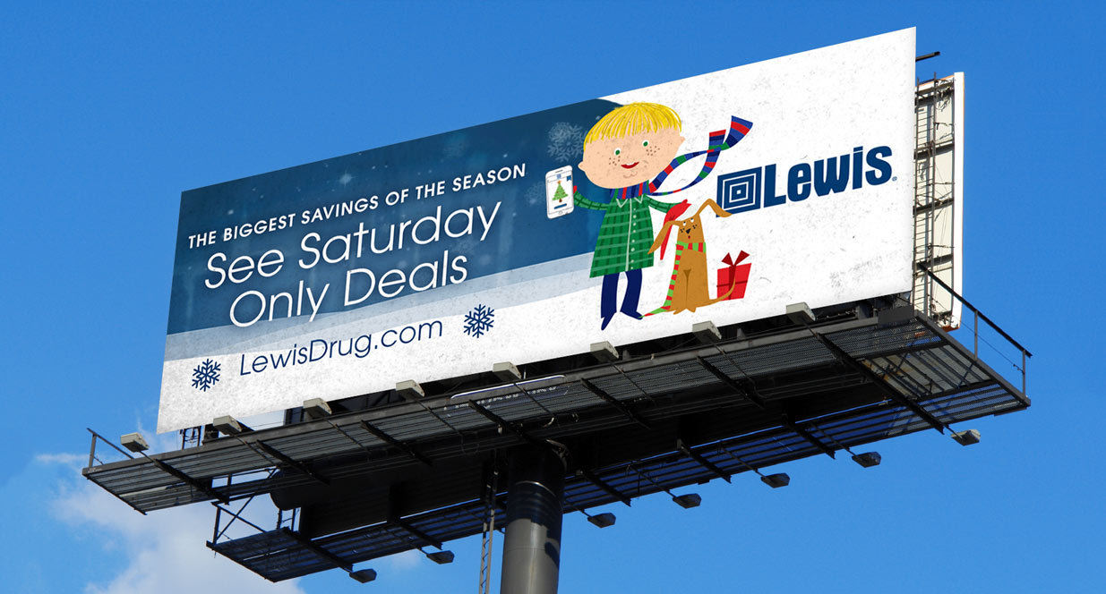 Lewis Billboard | Lewis Holiday