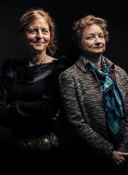 Jean & Kathy | Sanford Lorraine Cross