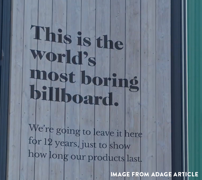Most Boring Billboard | 5 Things That Are Rocking My World