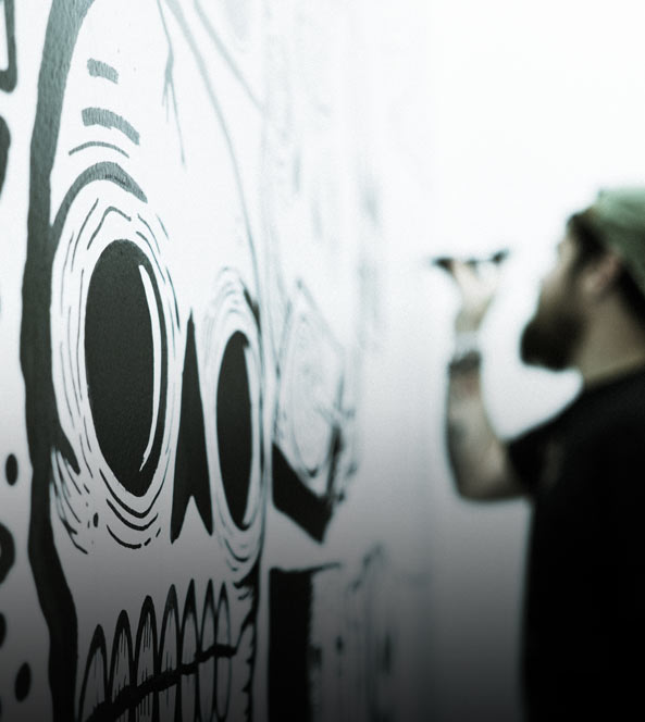 Wall Art Drawing | Get Rad Blog