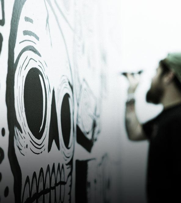Wall Art Drawing | Get Rad Blog