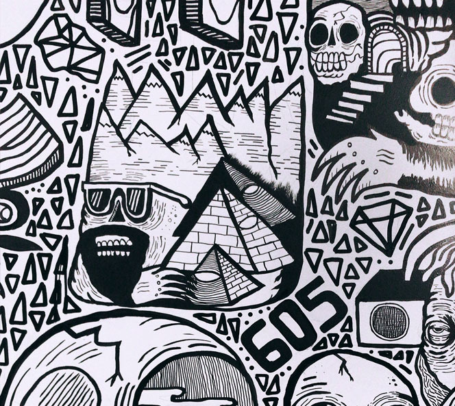 Wall Art Close Up | Get Rad Blog