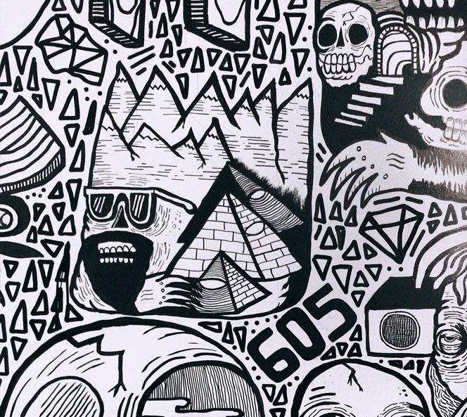 Wall Art Close Up | Get Rad Blog