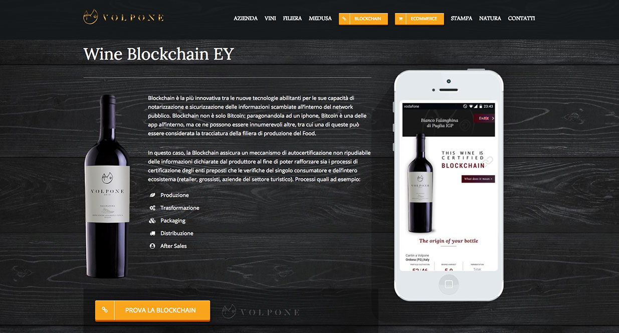 Wine Example | Blockchain Blog