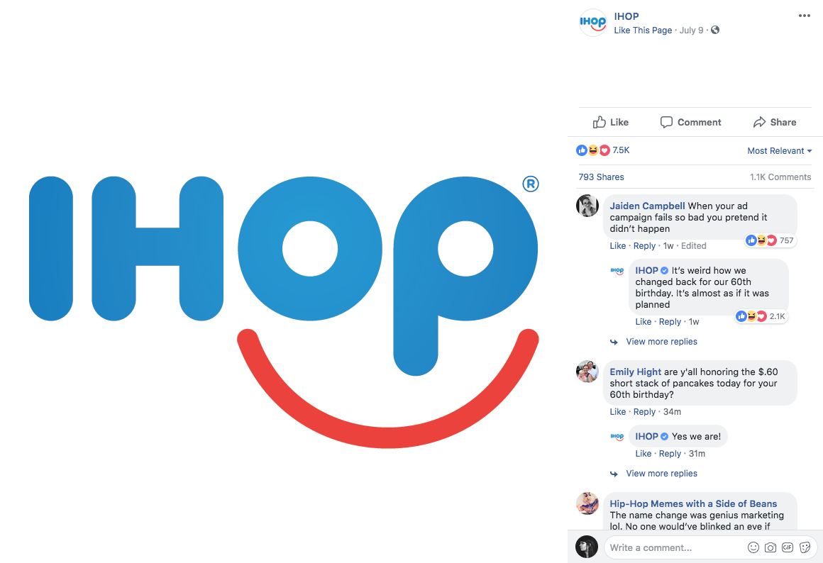 IHOP Social