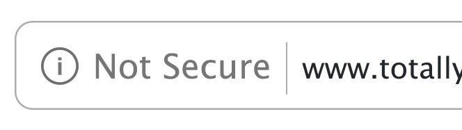 Chrome Security, Not Secure | Security Blog