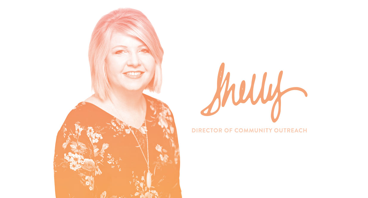 Director of Community Outreach, Shelly Johnson