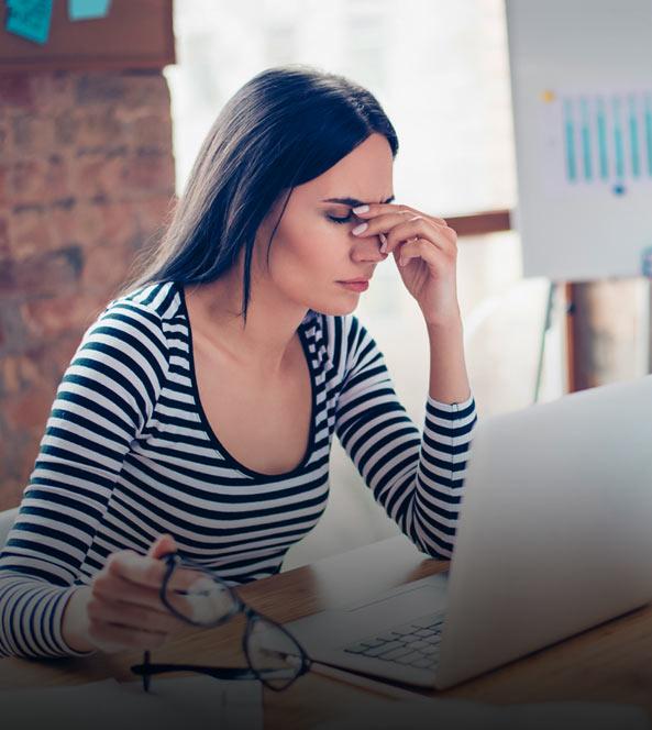 Stressed Woman | MIOBECC Blog