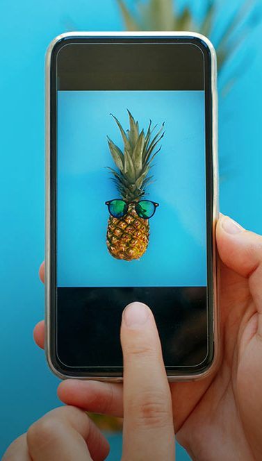 Pineapple with Glasses | 20 Creative Instagram Accounts for Marketers