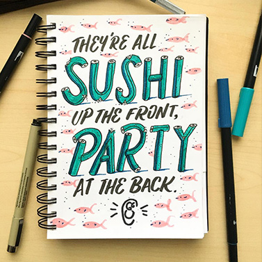 Sushi | 20 Creative Instagram Accounts for Marketers