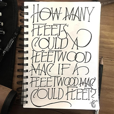 Fleetwood Mac Graphic | 20 Creative Instagram Accounts for Marketers