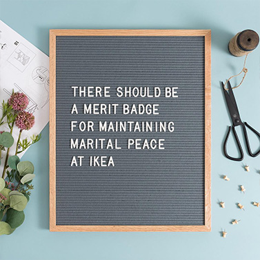 Letter Board Quote | 20 Creative Instagram Accounts for Marketers