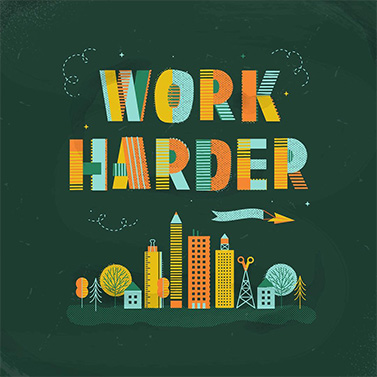 Work Harder | 20 Creative Instagram Accounts for Marketers