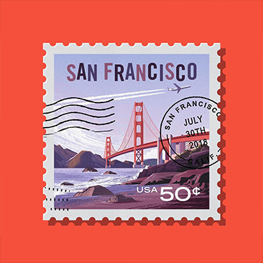 Stamp San Fransisco | 20 Creative Instagram Accounts for Marketers