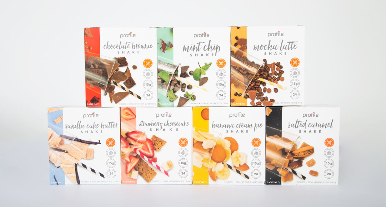 Shake Varieties | Shake Packaging