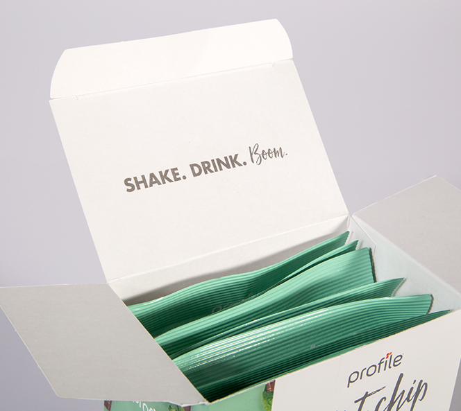 Shake. Drink. Boom. | Shake Packaging