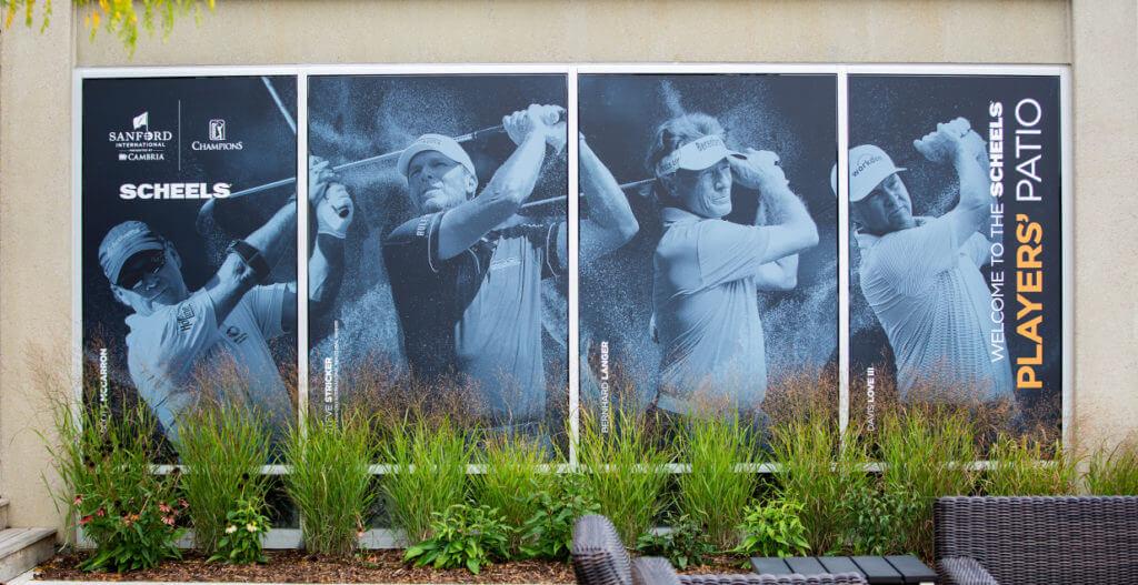Sanford International Window Clings