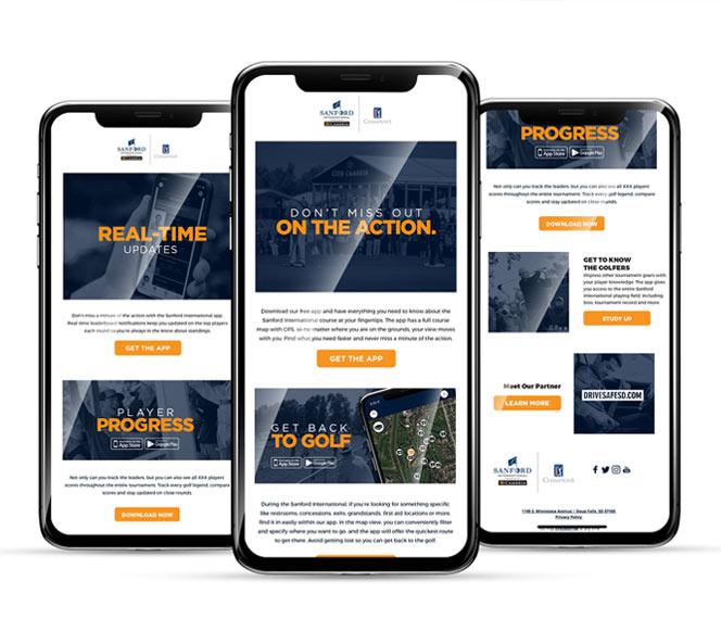 Sanford International Website