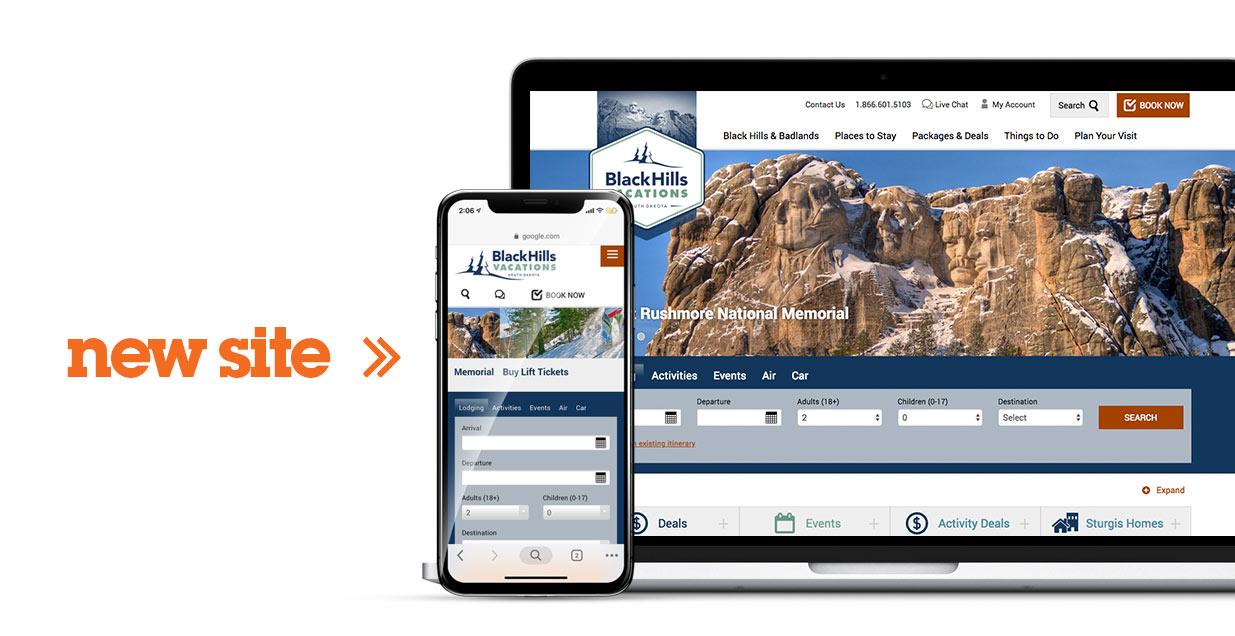 BHV New Site   Black Hills Vacations