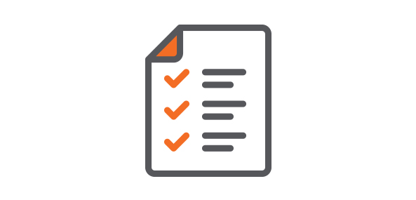 Checklist Icon | Performing a Social Audit Blog