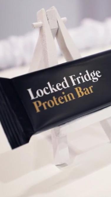 Locked Fridge Protein Bar | Scottie's 5 Things