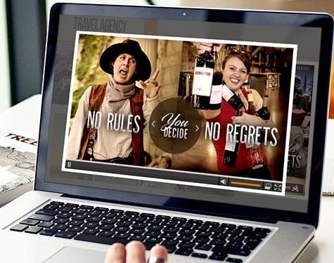 Website Mock | No Rules No Regrets, Deadwood